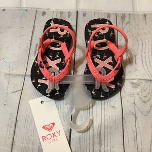 Roxy Flamingo Girls Flip Flop Sandal NWT